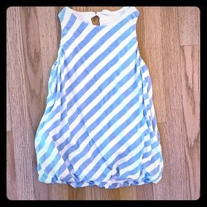 Striped Stem dress (4)